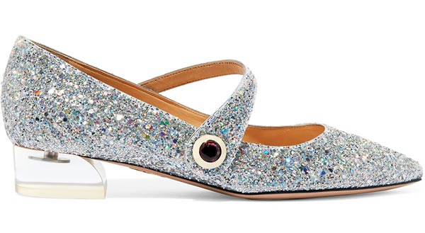Perspex Heels and Glitter