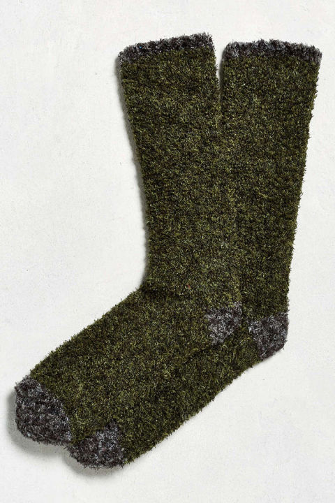 Urban Outfitters Fuzzy Boot Sock