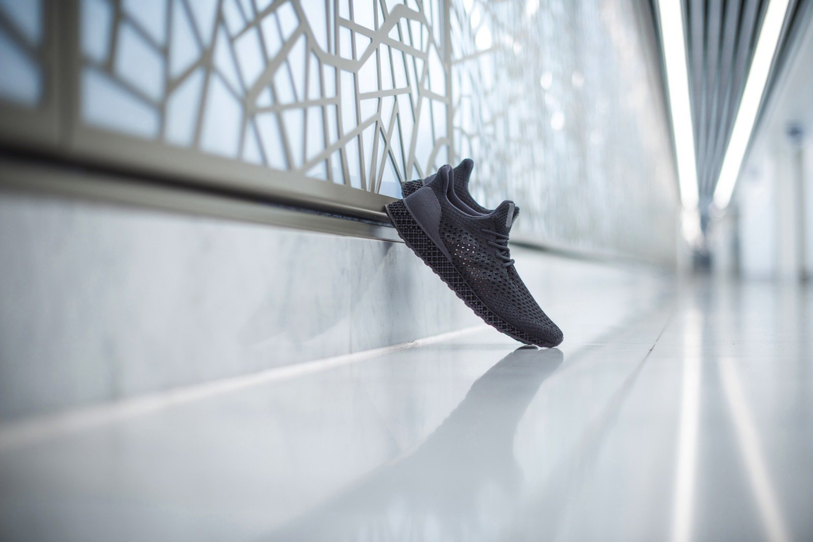 Adidas Unveils Limited Edition 3D-Printed Running Shoes