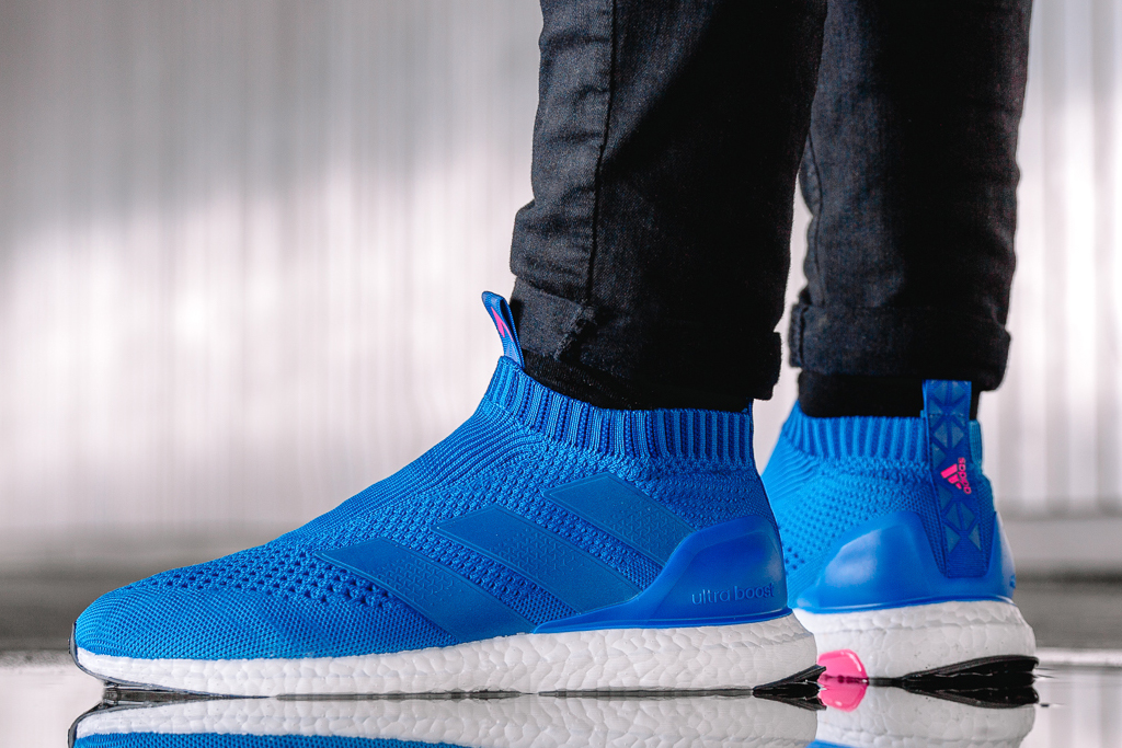 f69d92c7f47a6a Adidas  Soccer Ultra Boost Arrives in  Blue Blast  - Nike Online Shop