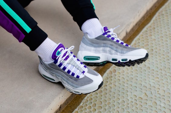 half off e08dc 661f1 ... anything curved via and through as an alternative to just using a  smaller, flat movement that might match anyway. The Nike WMNS Air Max 95  Grape ...
