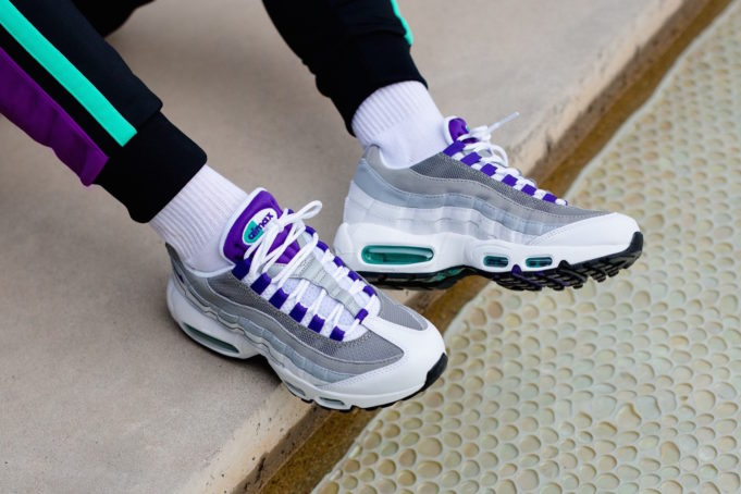Are You Currently Copping The Nike Wmns Air Max 95 Grape 2018 Nike Online Shop