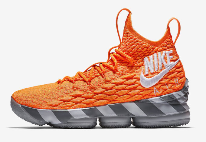 1542c0e2d8 Did You Cop The Nike LeBron 15 Orange Box? - Nike Online Shop