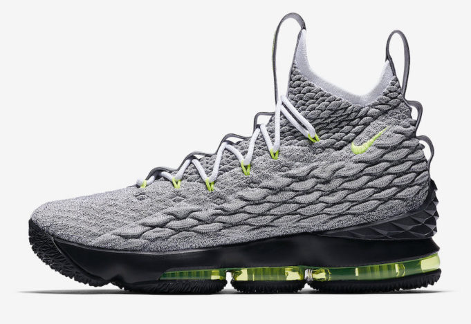 buy popular cd7ae 0aa42 low cost green white womens nike lebron 15 shoes 76a4d 4cd08
